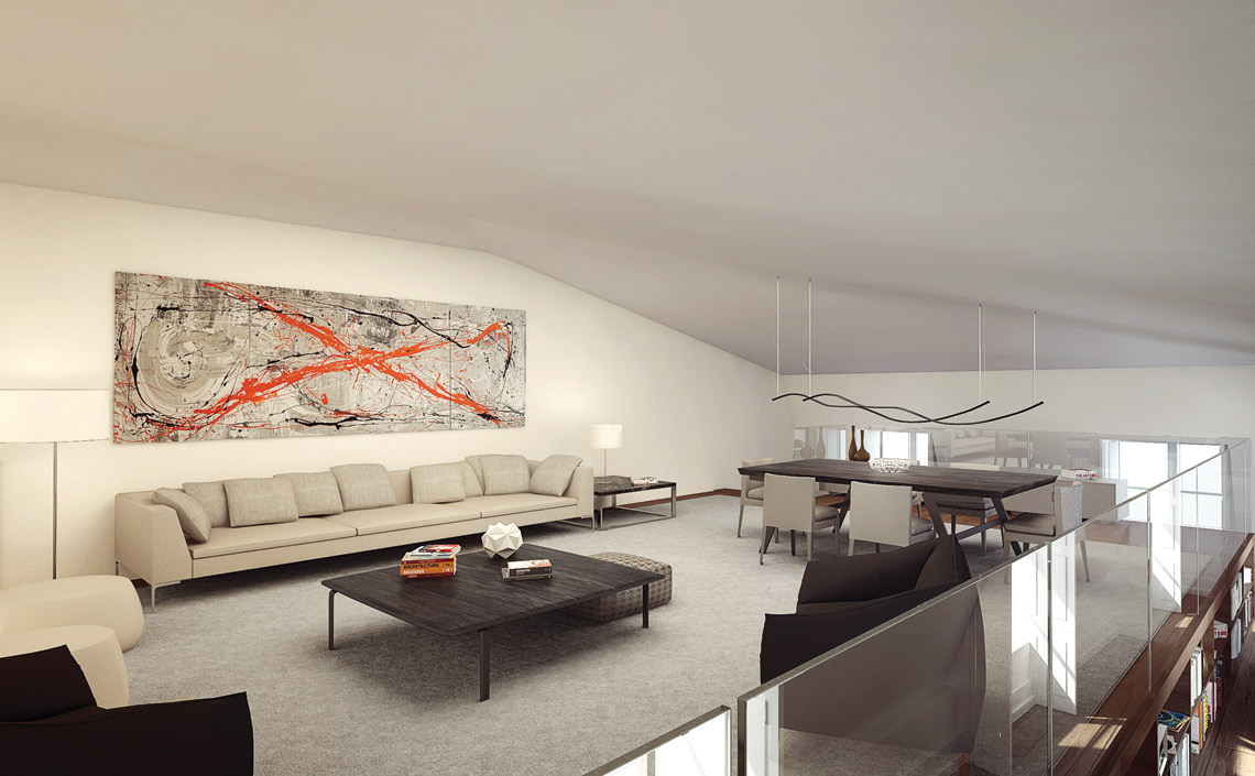 The-Sandomil-Palace-Apt-G-mezzanine-living room